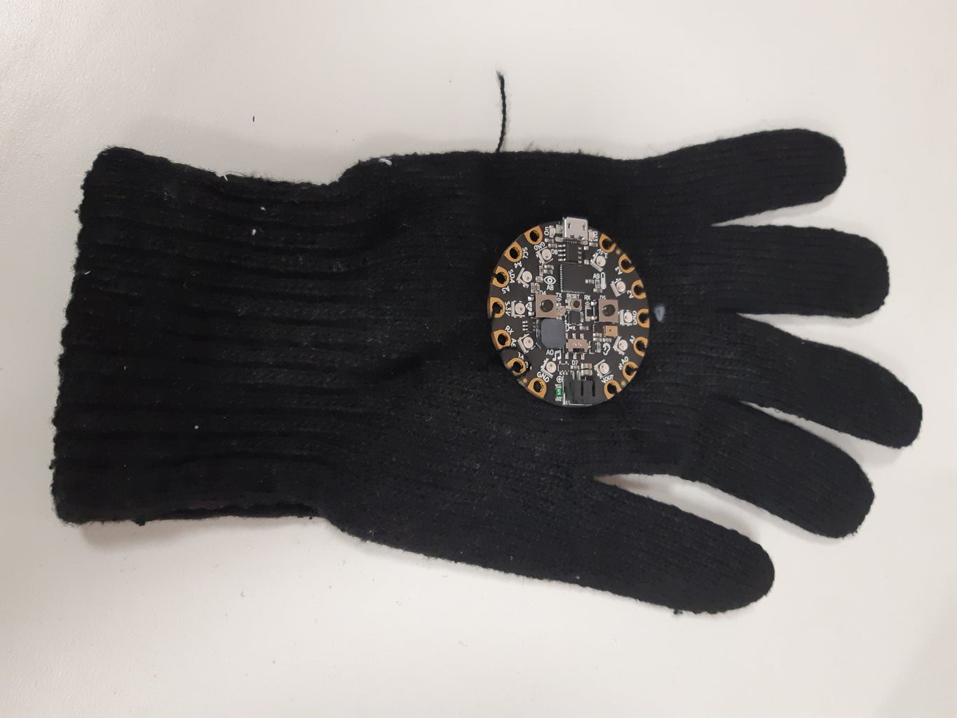 Attaching Your CPX to Your Glove