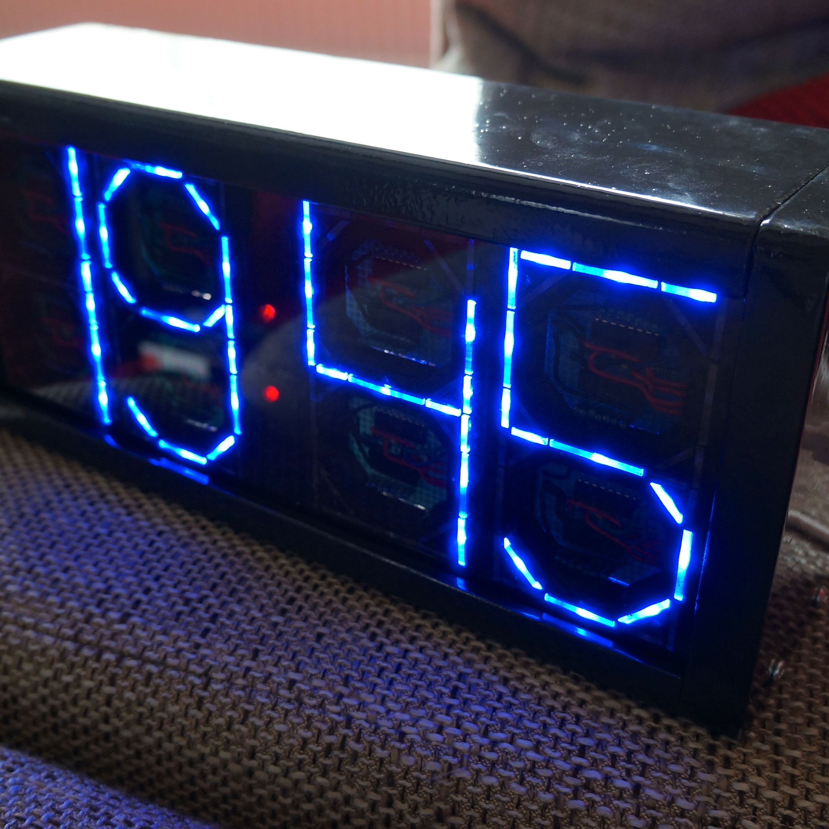 Big Digit Backwards counting bluetooth Clock