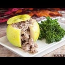 Pork Stuffed Bramley Apples