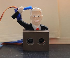 3D Printed Pence Over Flies Mechanism