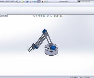 Robotic Arm SolidWorks