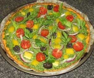 胡桃基披萨