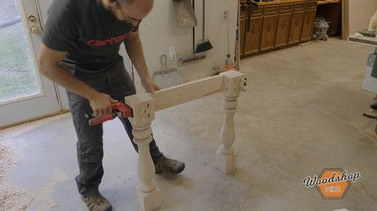 Assemble Farmhouse Table Base