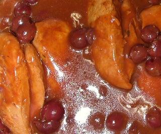 Chicken Cherry in 4 Easy Steps