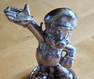 Metal Mario Amiibo