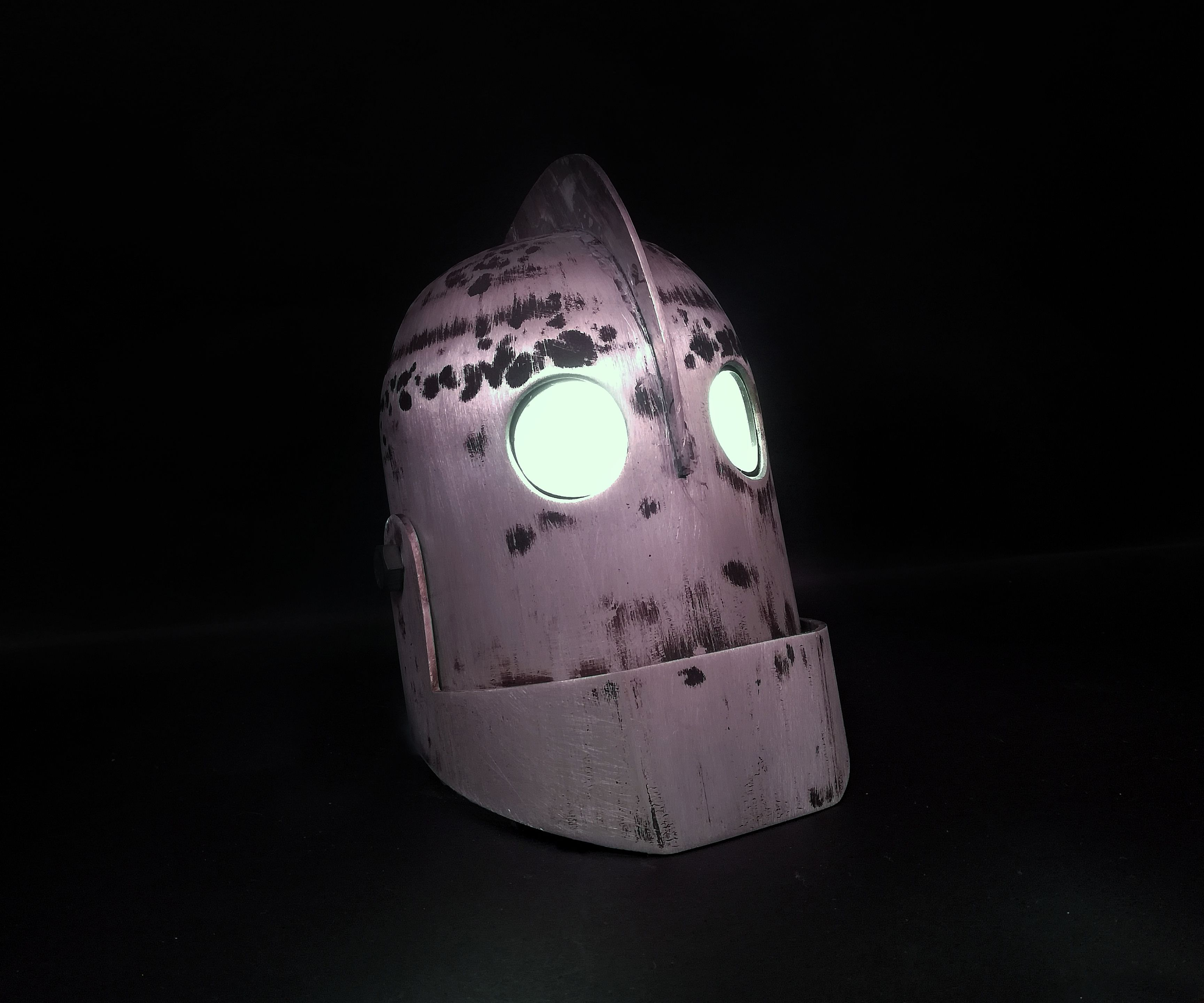 The Iron Giant   Head Build