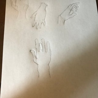 Drawing Hands--The Simple Way