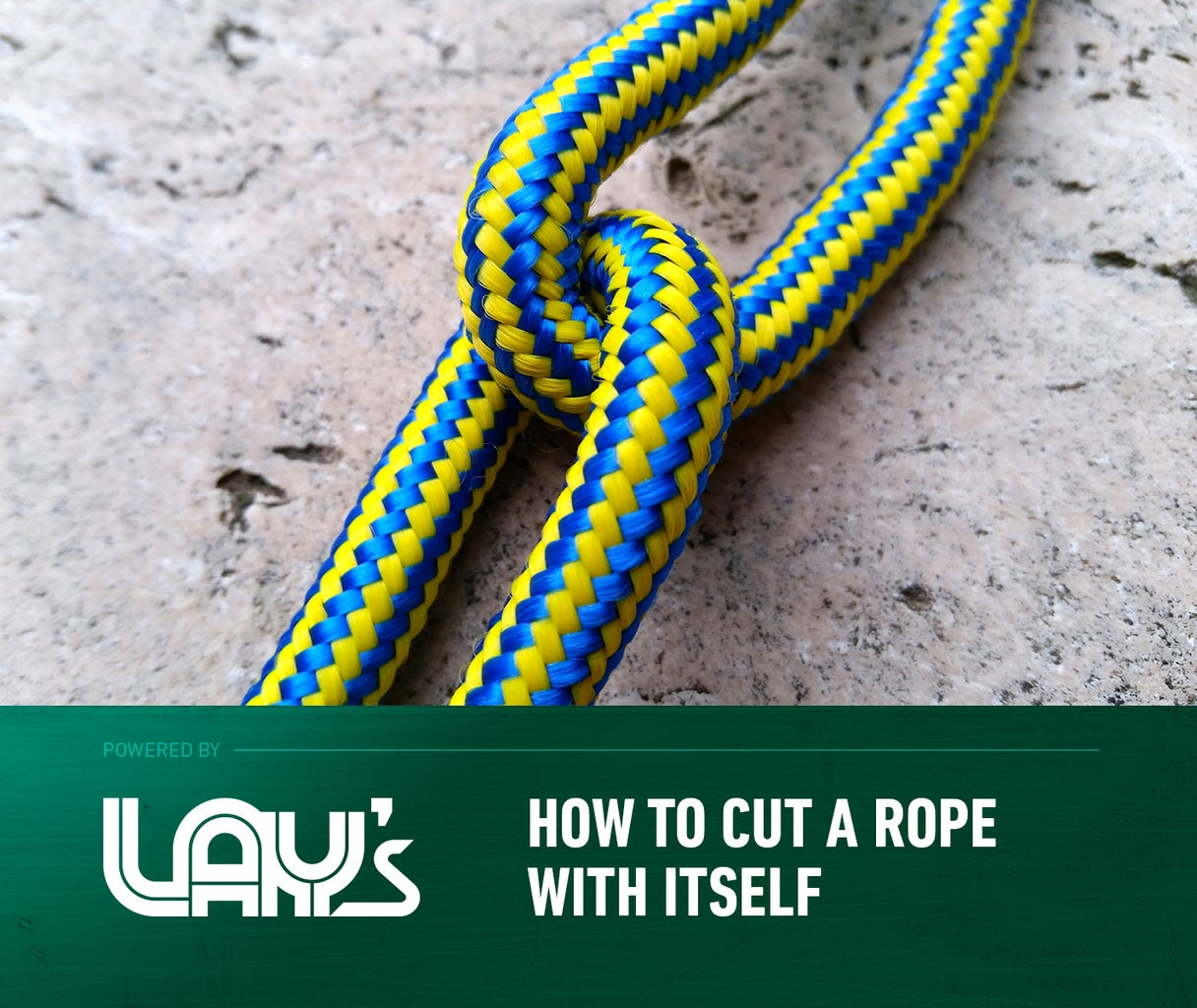 How to Cut a Rope With Itself