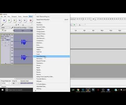 How to Make a Demonic Voice in Audacity