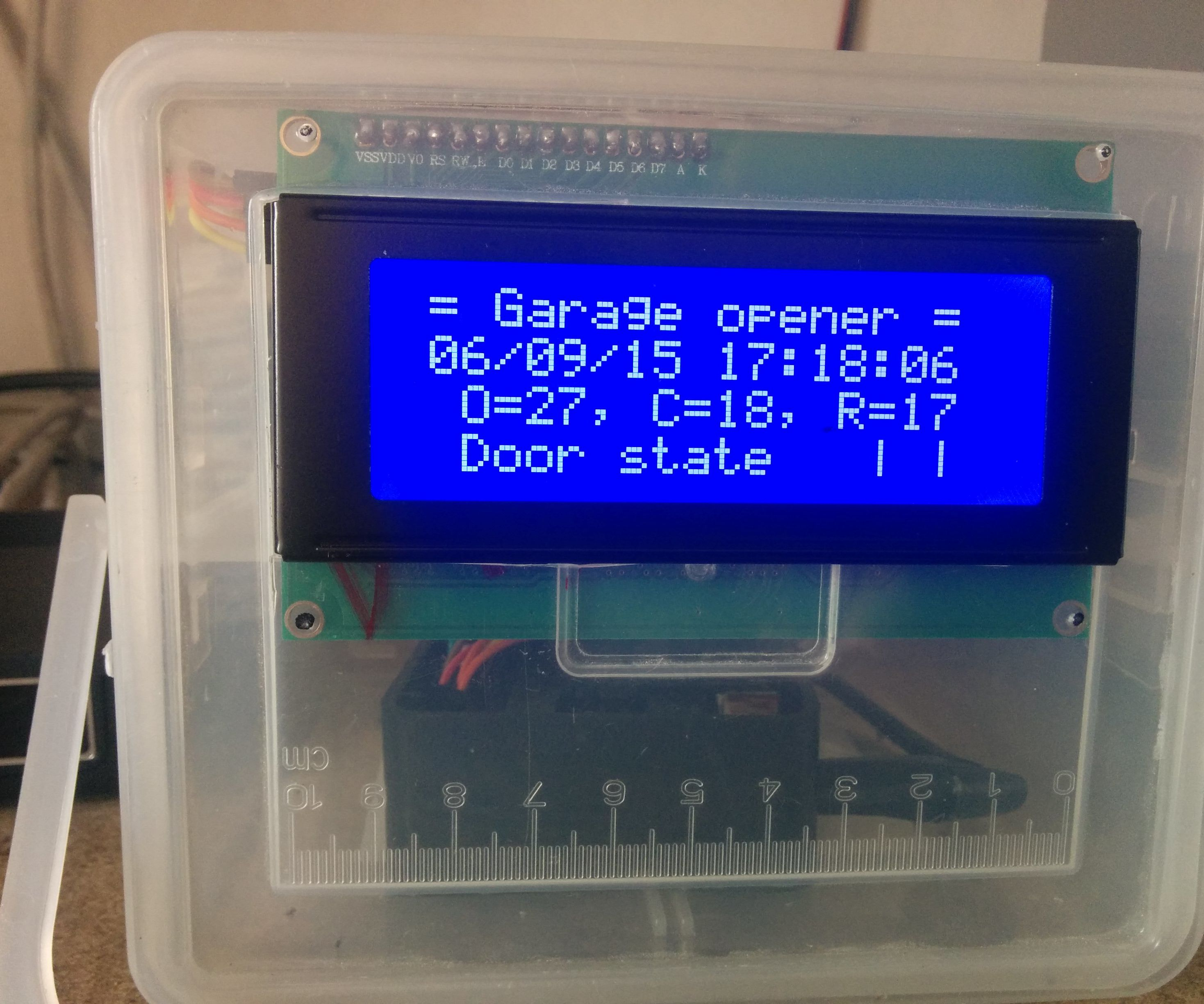 Garage Door Opener Using a Raspberry Pi