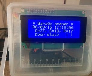 Garage Door Opener Using a Raspberry Pi