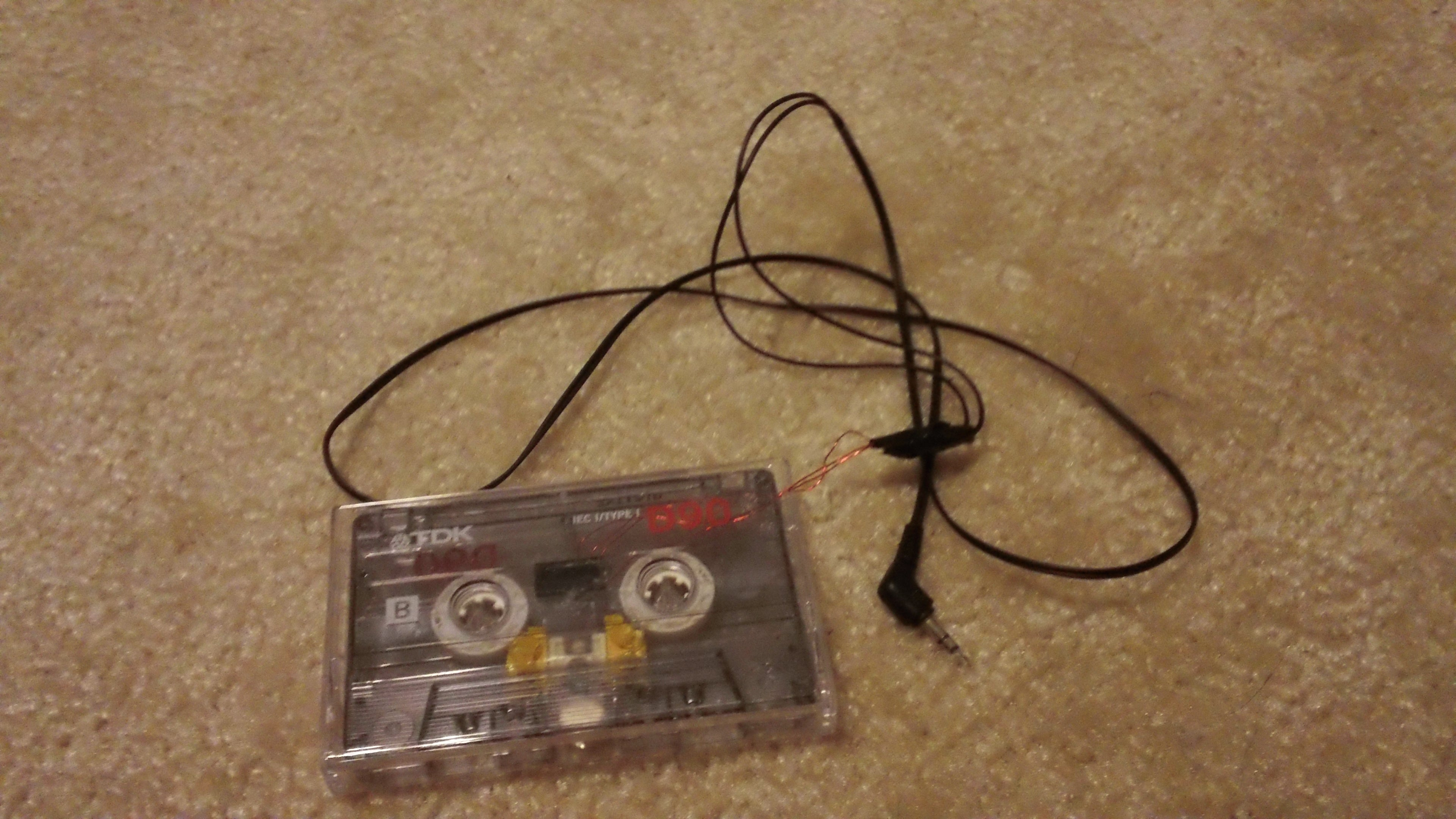 DIY MP3 to Cassette or Instrument to Cassette Adapter : 11 Steps -  InstructablesInstructables