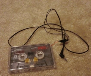DIY MP3 to Cassette or Instrument to Cassette Adapter