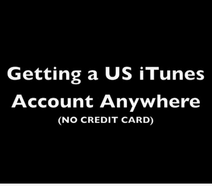 How to Get  a US ITunes Account