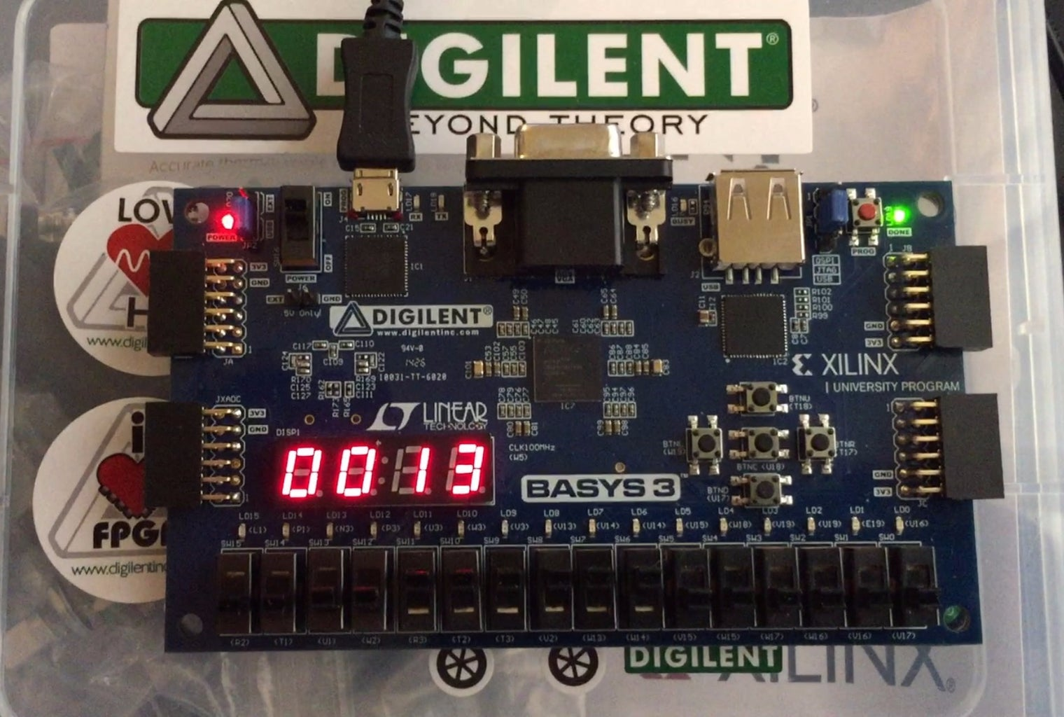 How to Use Verilog and Basys 3 to Do Stop Watch