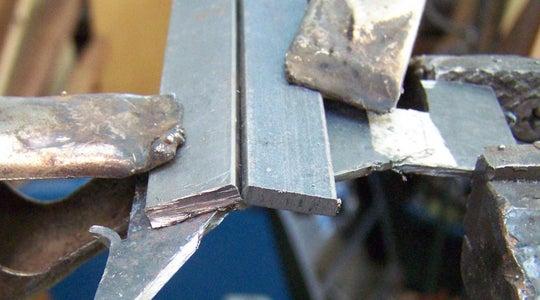 Weld Pieces of Steel Bar