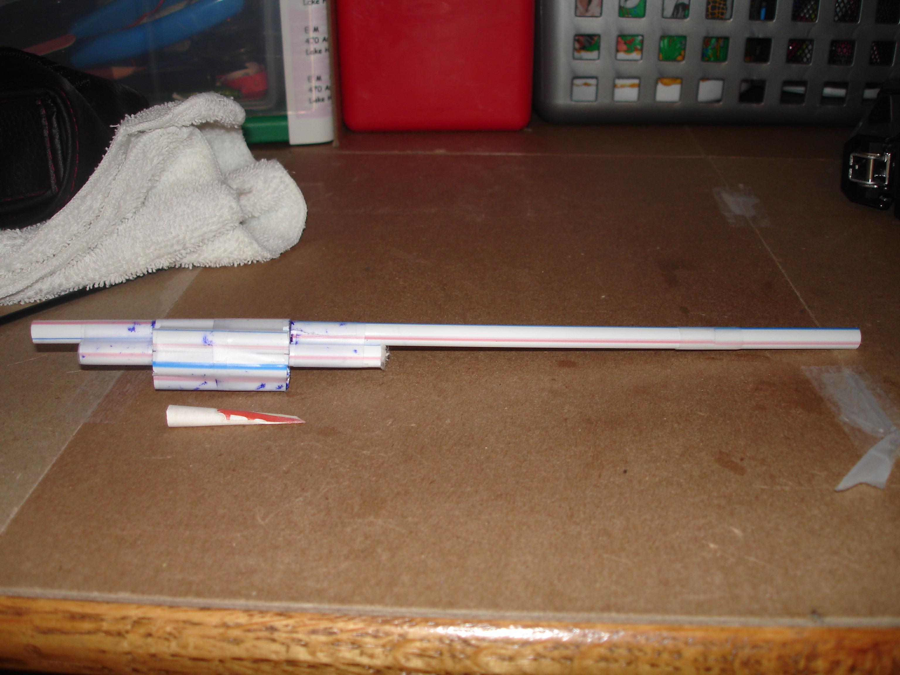 6 shot dart bazooka