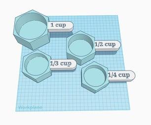 Measuring Cups Using Tinkercad Codeblocks