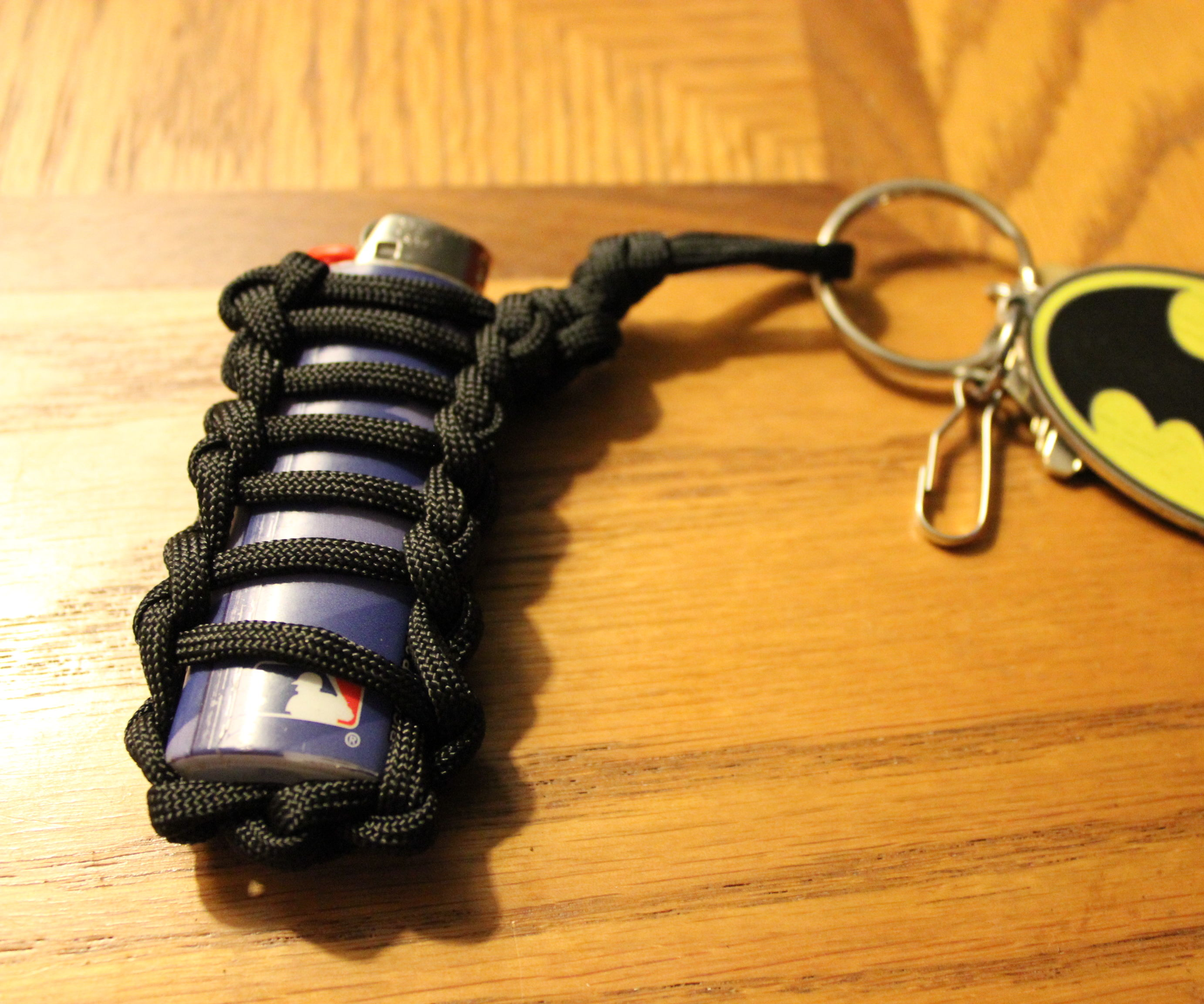 Paracord Lighter Wrap Keychain