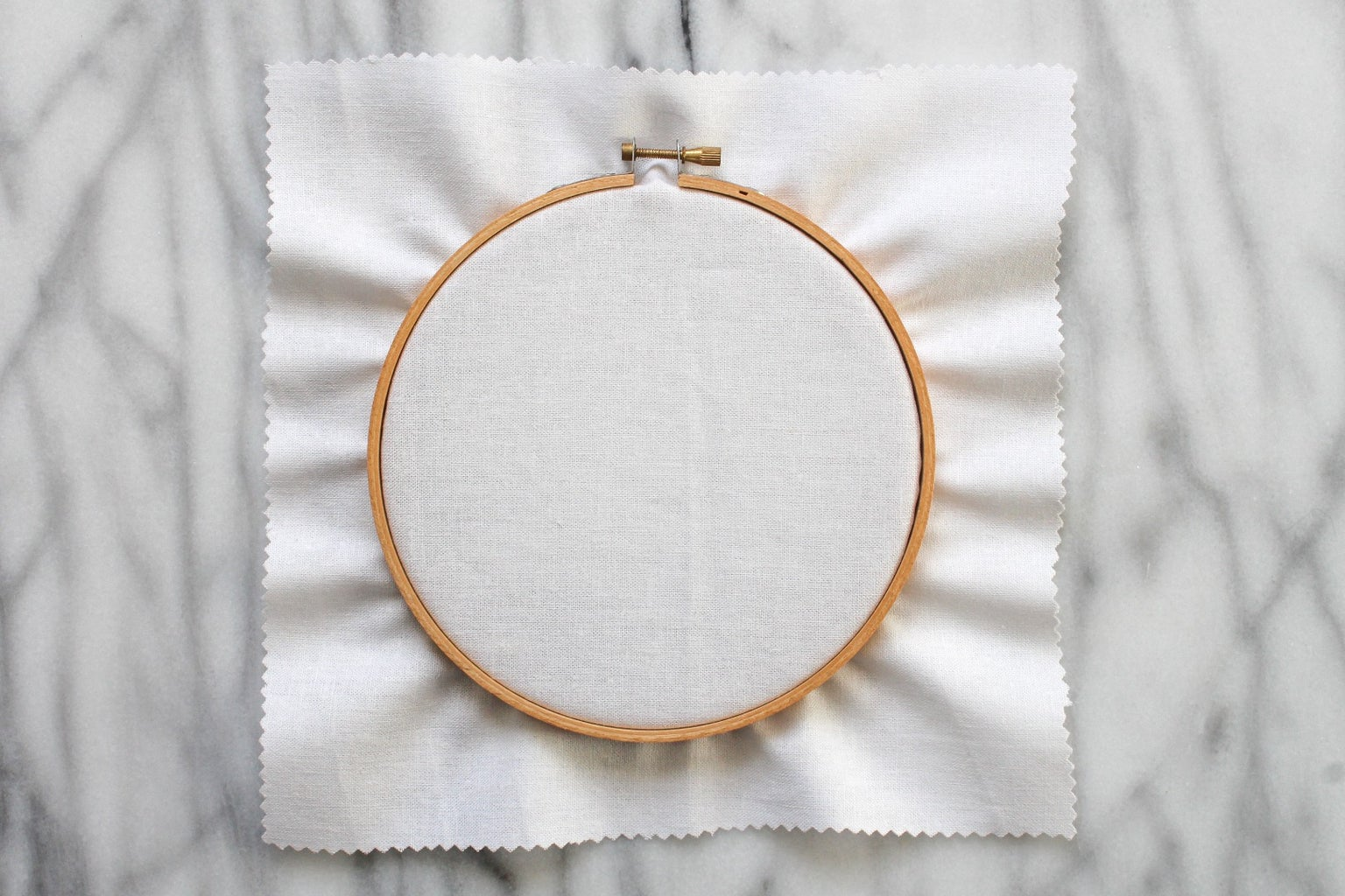 How to Use an Embroidery Hoop