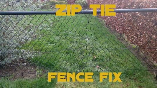 Zip Tie Fence Fix