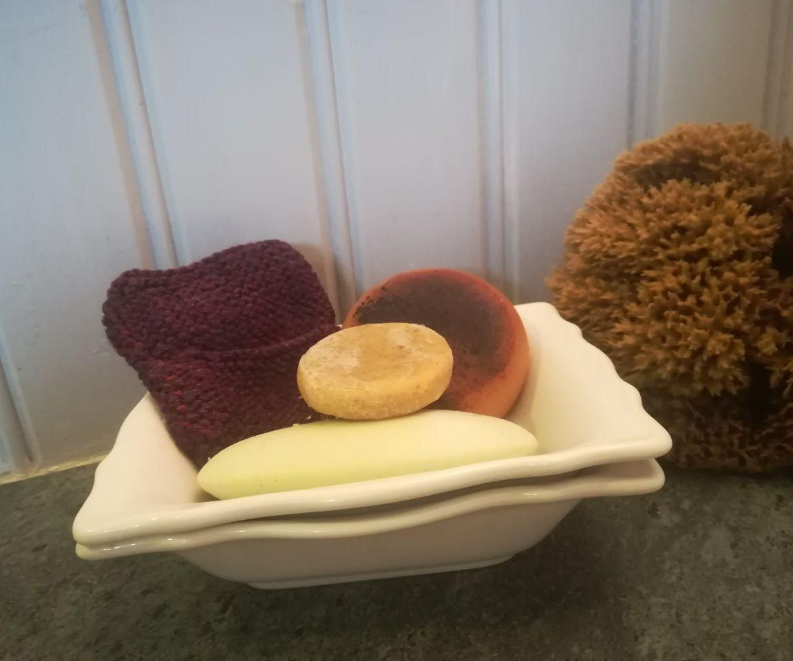 Knitted Soap Saver