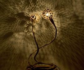 Coconut Light Sculpture