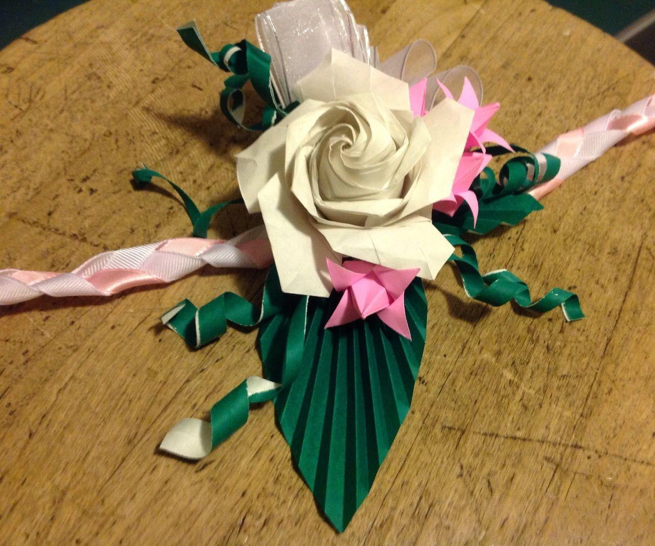 Origami Corsage