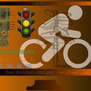 Bike Direction Indicator - مؤشر اتجاه الدراجة