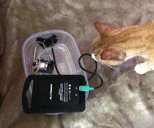 The Cat Has Left the Building - ESP8266 PIR Monitor