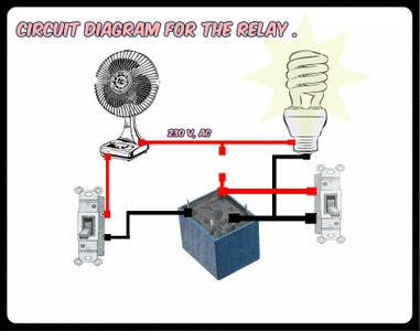 Be Very Care Full , Proper Care Is Needed While Working With Main AC Lines , and Proper Insulation Is Need in This Set Up .
