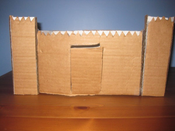 How to Make a Cardboard Mini-Castle!