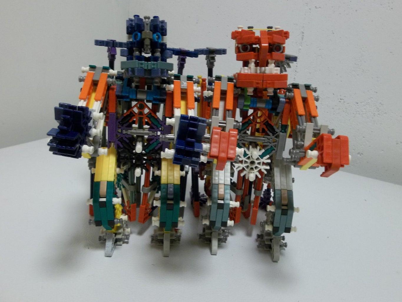 K'nex Rockem' Sockem' Robots