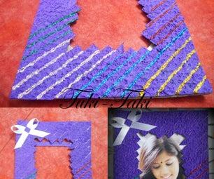 Purple Photo Frame(easy to Make)