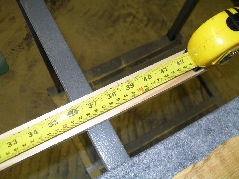 Measure Twice Cut Once.