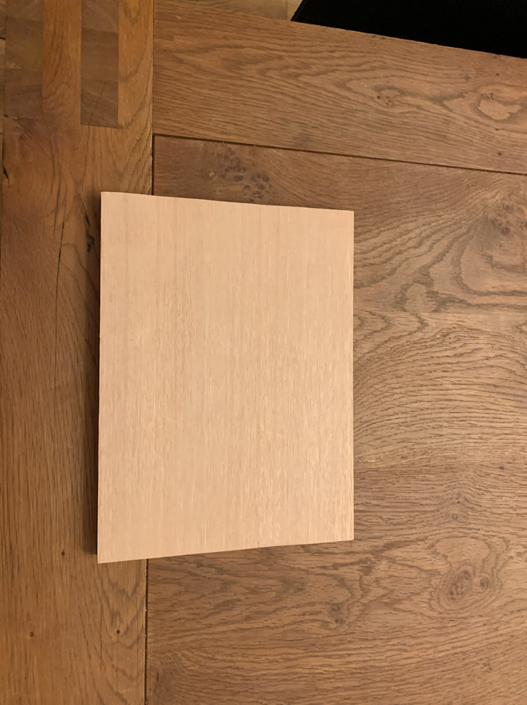 Sanding the Board
