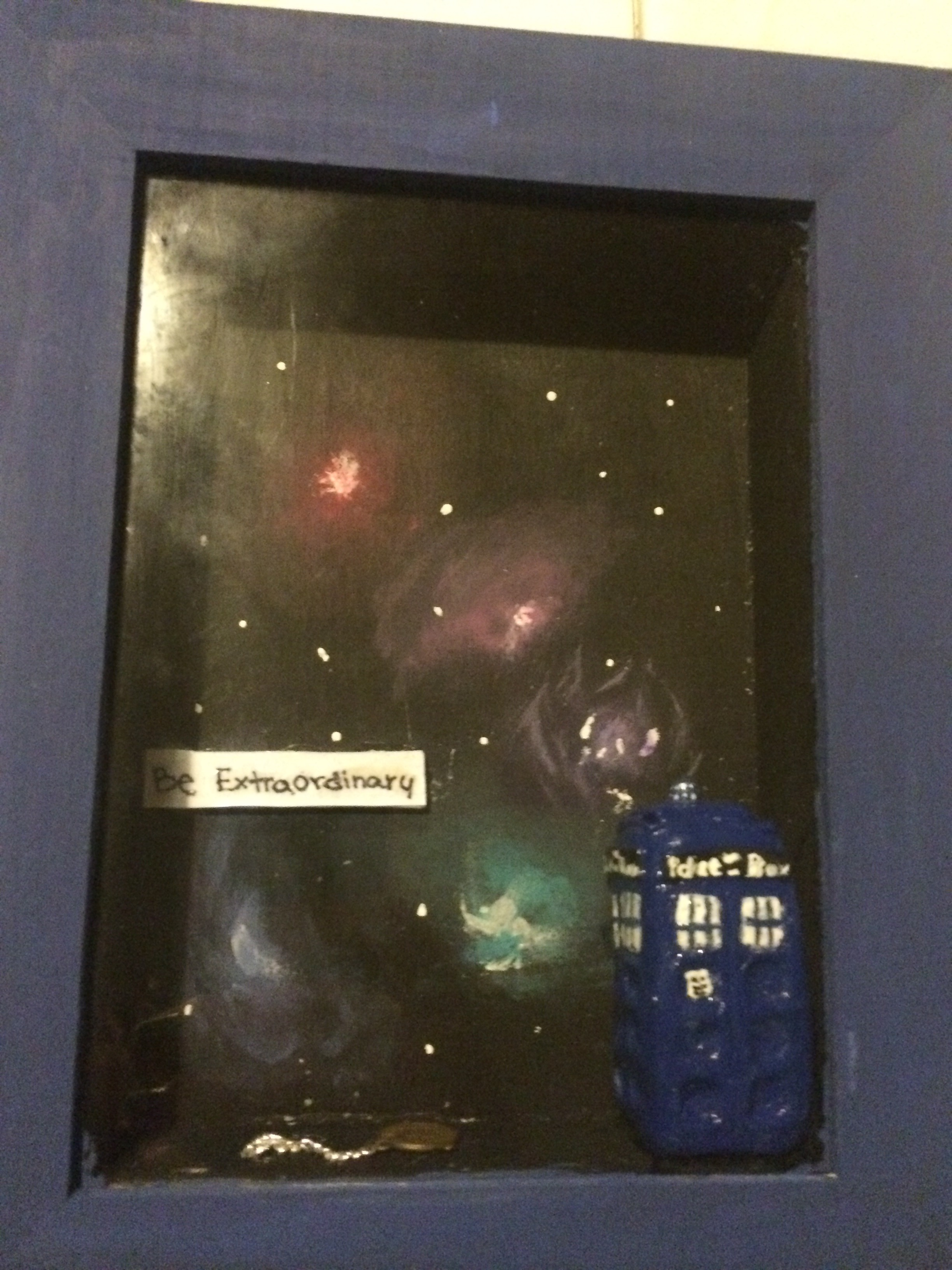 Doctor Who Shadow Box