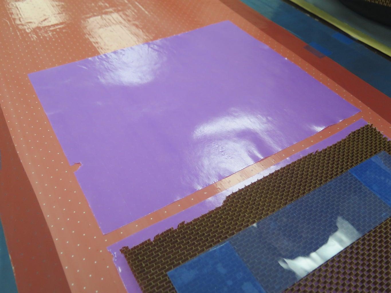 Mold Core Prep - Apply Film Adhesive