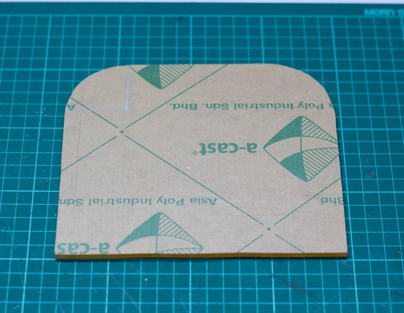 Cutting the Acrylic Sheet