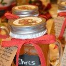 Mason Jar Gifts, Apple Pie Moonshine!