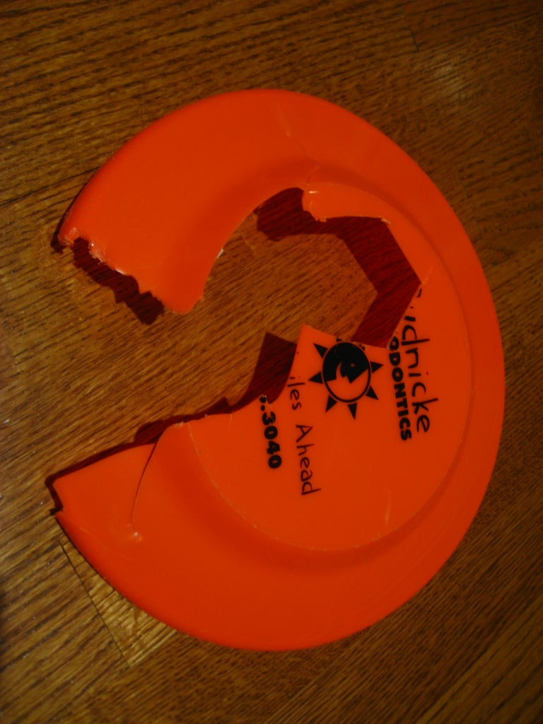 Cut Down the Frisbee