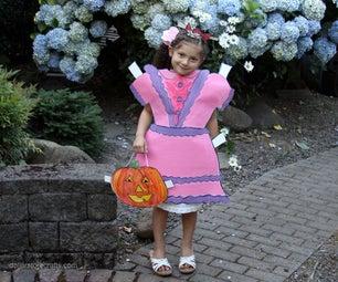 Make a Paper Doll Costume