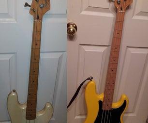 Refinishing / Rebuilding a Bass Guitar
