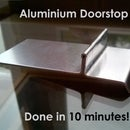 Simple Quick Aluminium Doorstop