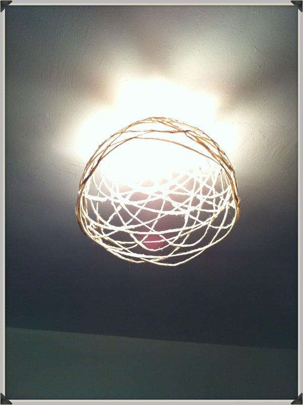String Light Fitting
