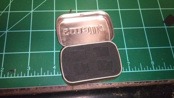 Altoids Tin Micro SD Holder