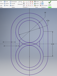 Finish the Sketch and Extrude the Basic Component
