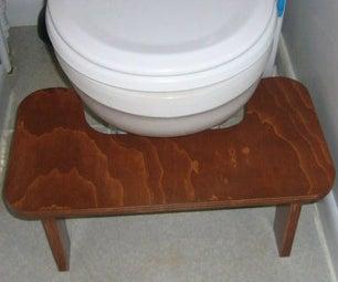Plywood Potty Pedestal
