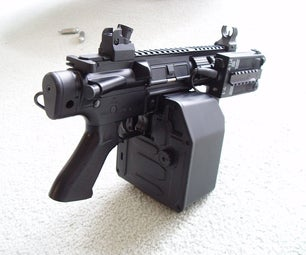 Airsoft AEGs and Upgrading Them.