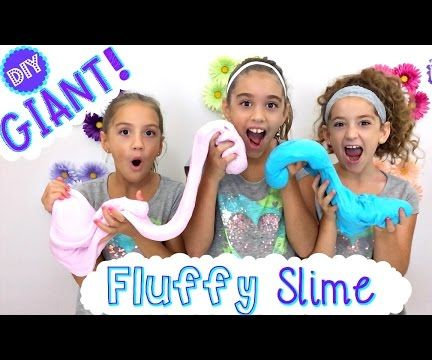 DIY GIANT FLUFFY SLIME